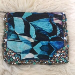 Gorgeous beaded pouch from Rana Gill & Anthro